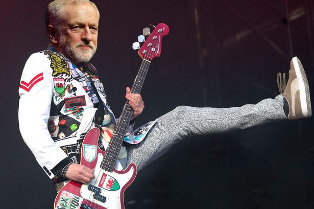 Jeremy Corbyn at Wirral Live recently