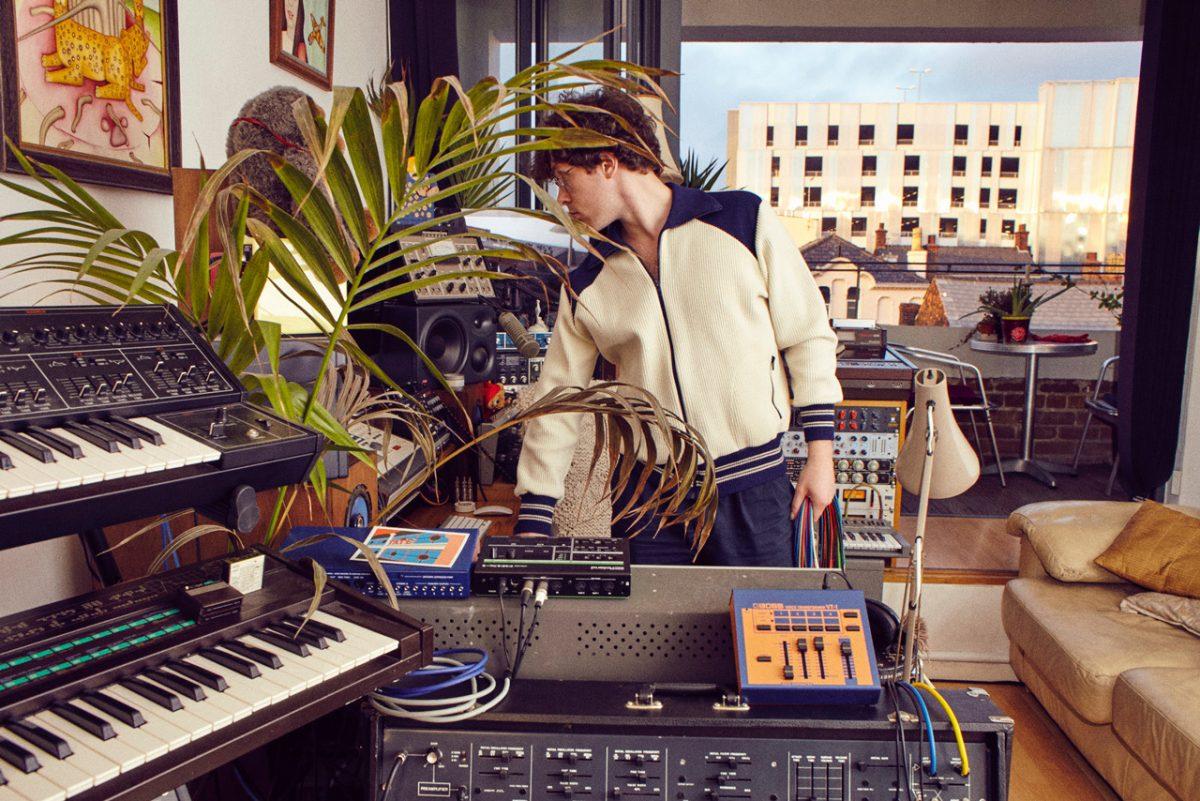 Joe Wills in the Studio