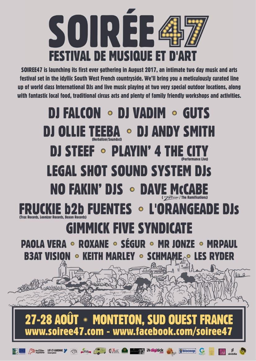 Soiree47 Festival Lineup