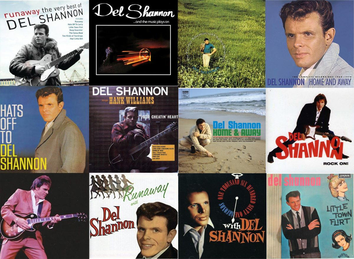 Del Shannon (Photo credit: bottom far left All Things Del Shannon, New York, 1988; montage: Nathan Scally)