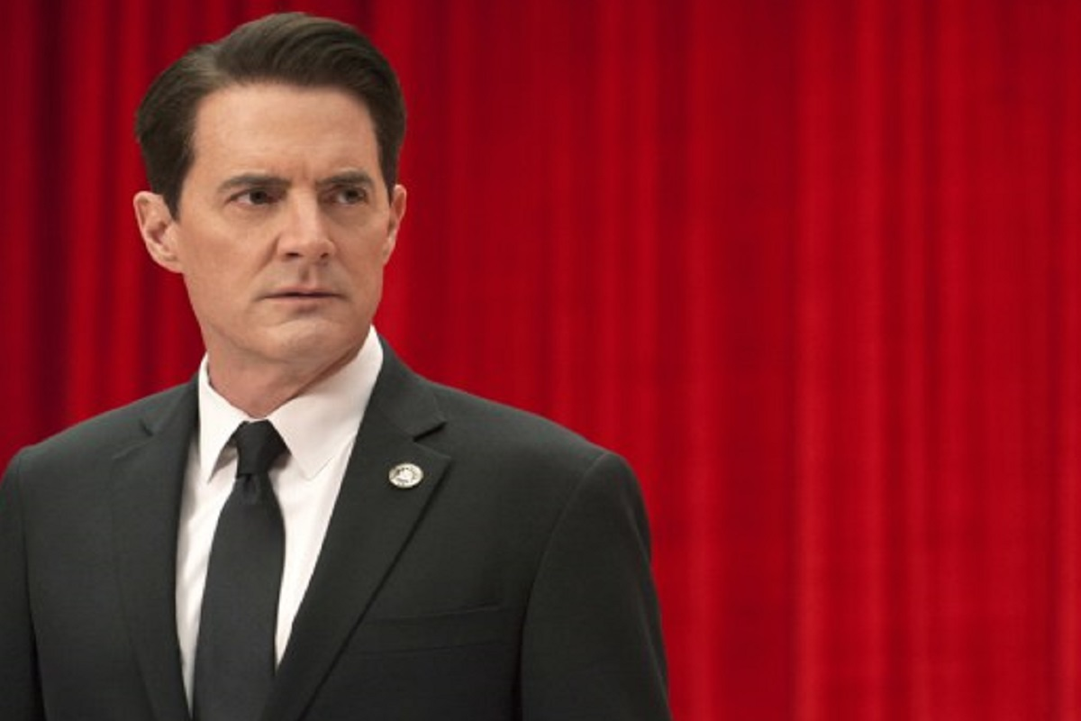 Kyle MacLachlan in a still from Twin Peaks