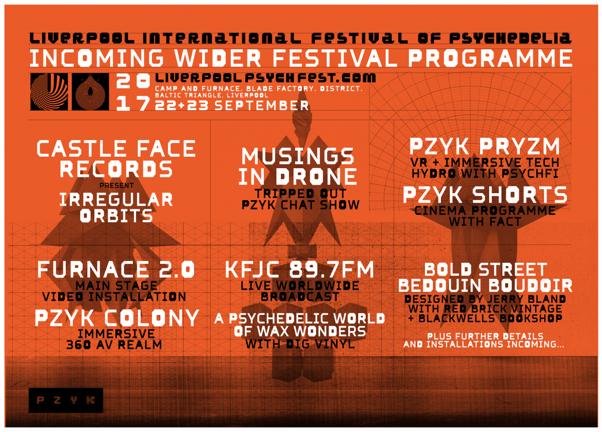 Liverpool Psych Fest programme of events