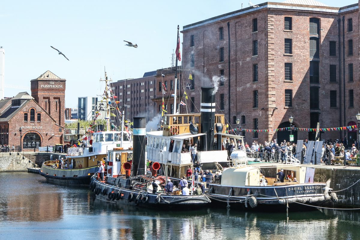 Folk on the Dock comes to Liverpool's Albert Dock