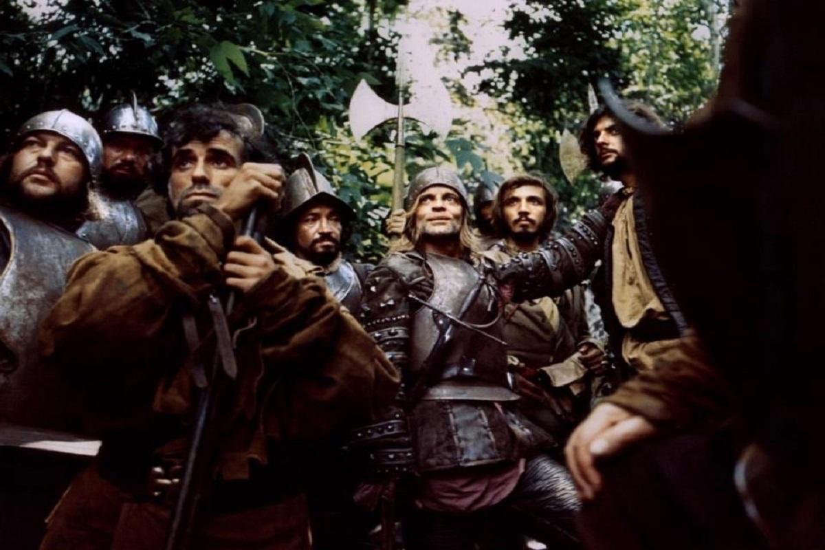 Klaus Kinski in Werner Herzog's Aguirre (Credit: Werner Herzog Facebook page)