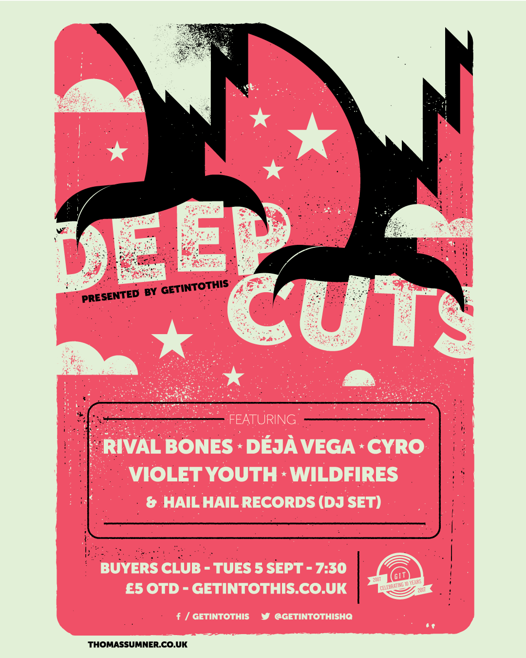 Deep Cuts #8 September edition at Buyers Club
