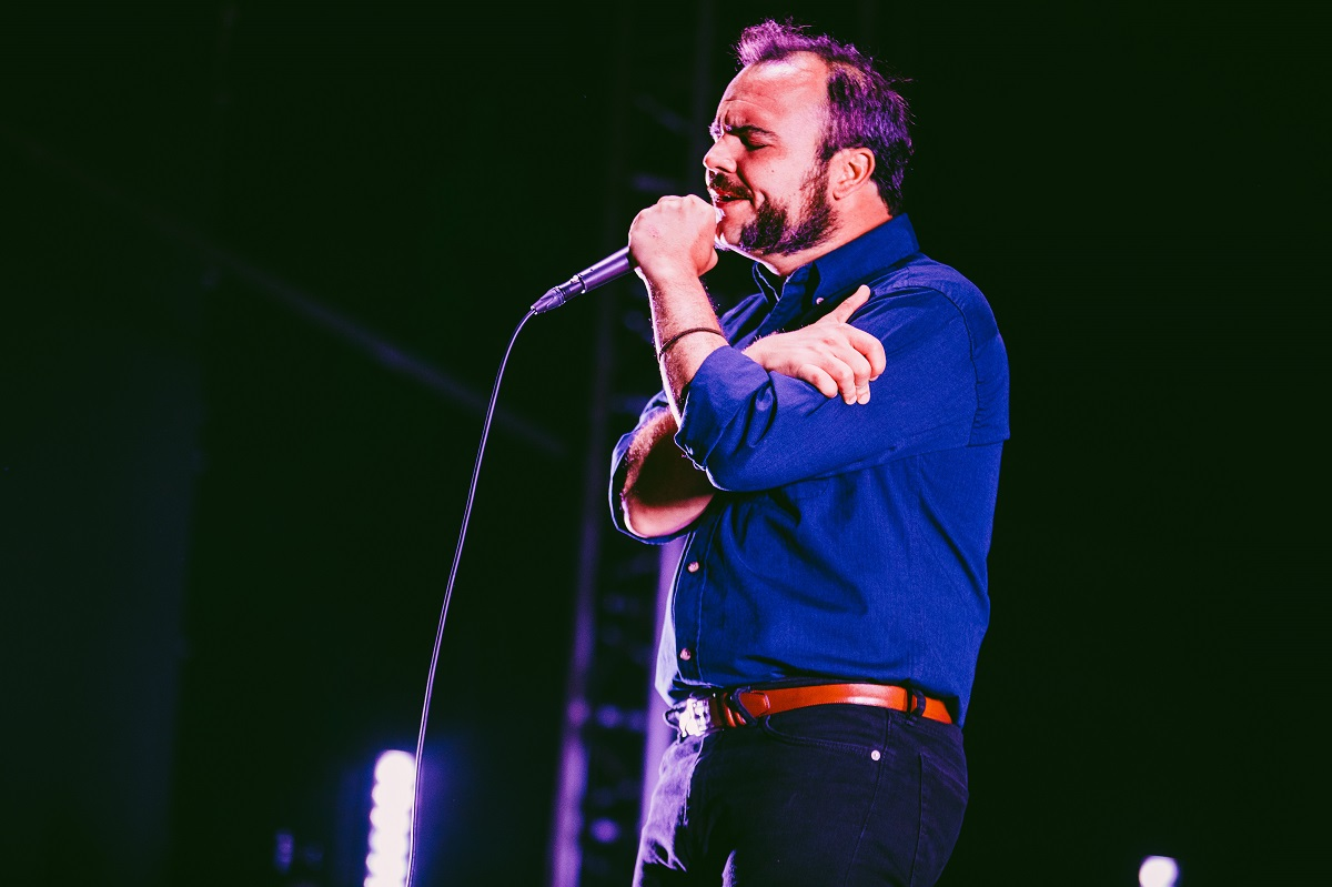 Future Islands (Credit: Pooneh Ghana)