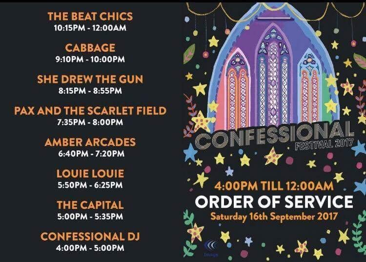 Confessional 2017 Order of Service