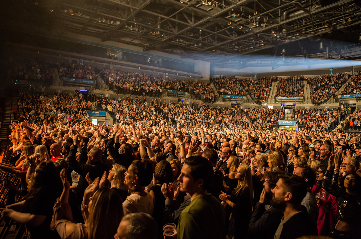 CHIC featuring Nile Rodgers: Echo Arena, Liverpool - Getintothis