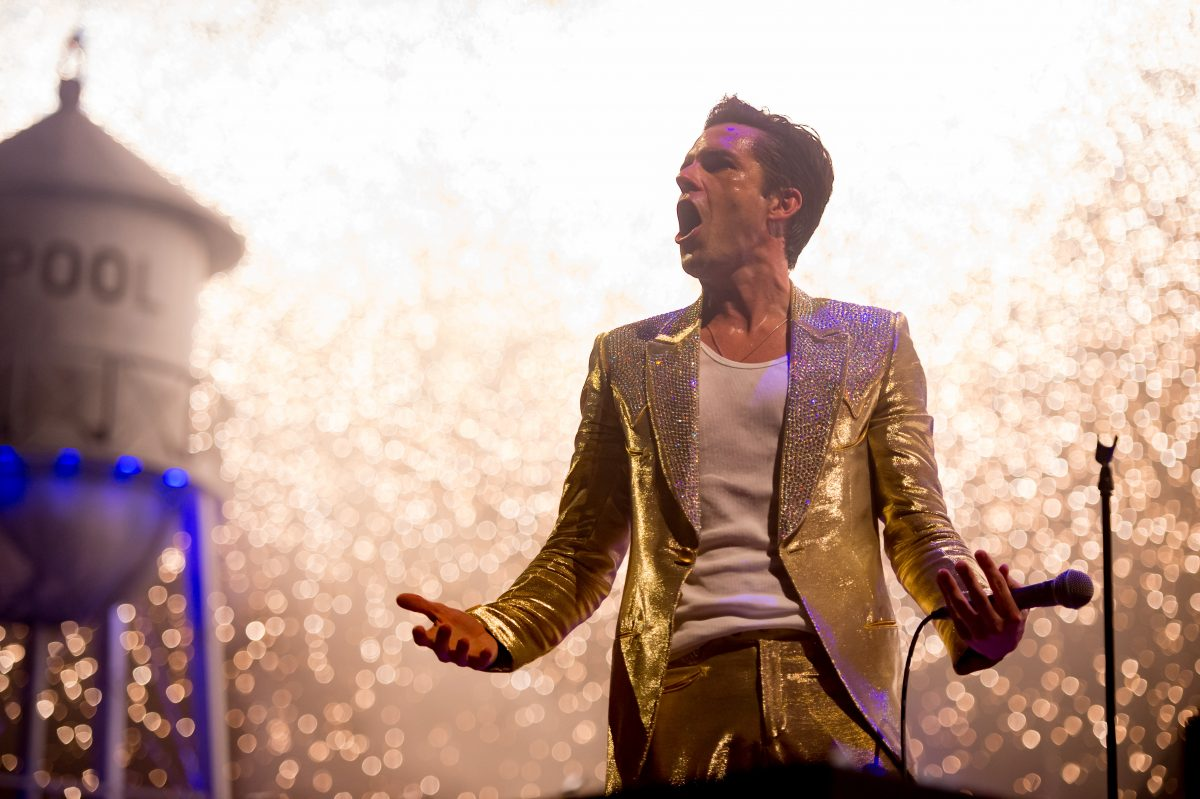 The Killers at the Liverpool ECHO Arena