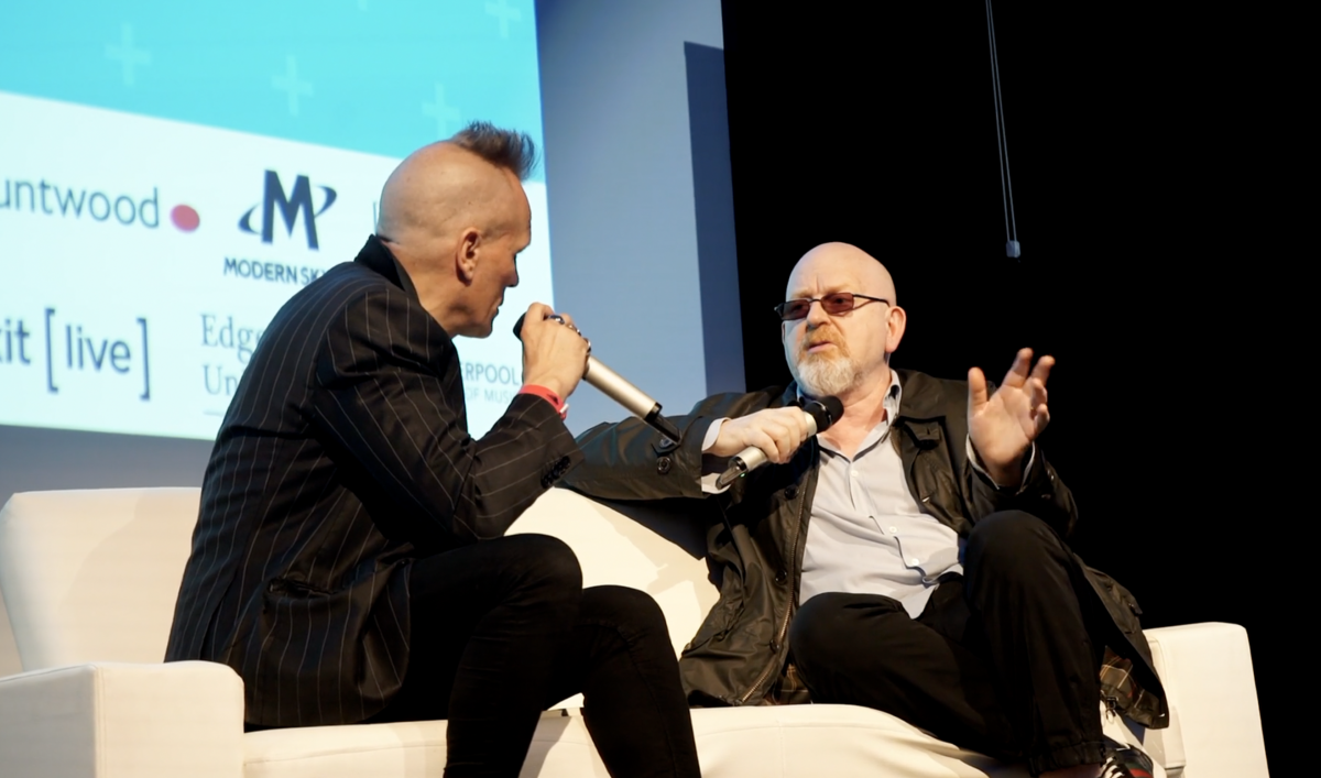 Alan McGee in conversation with John Robb