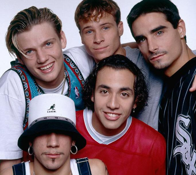 Backstreet Boys (from artist's Facebook page)