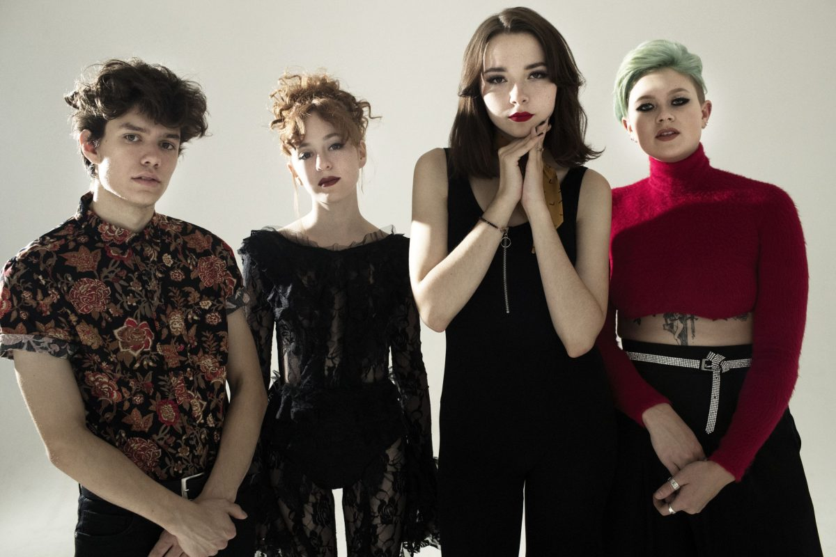 The Regrettes [Credit: Kenneth Cappello]