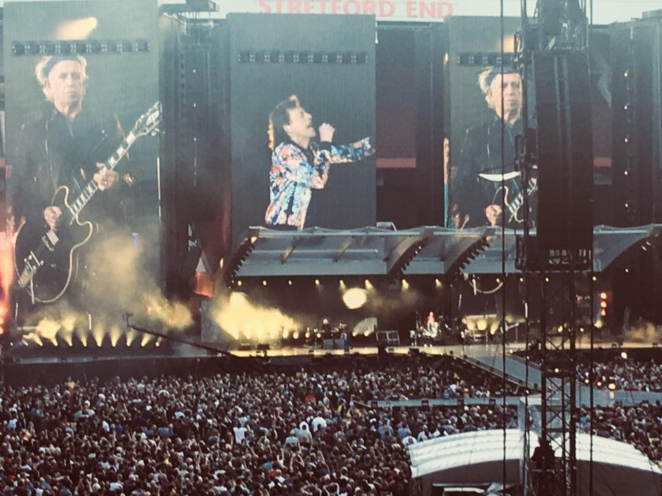 Rolling Stones in Manchester
