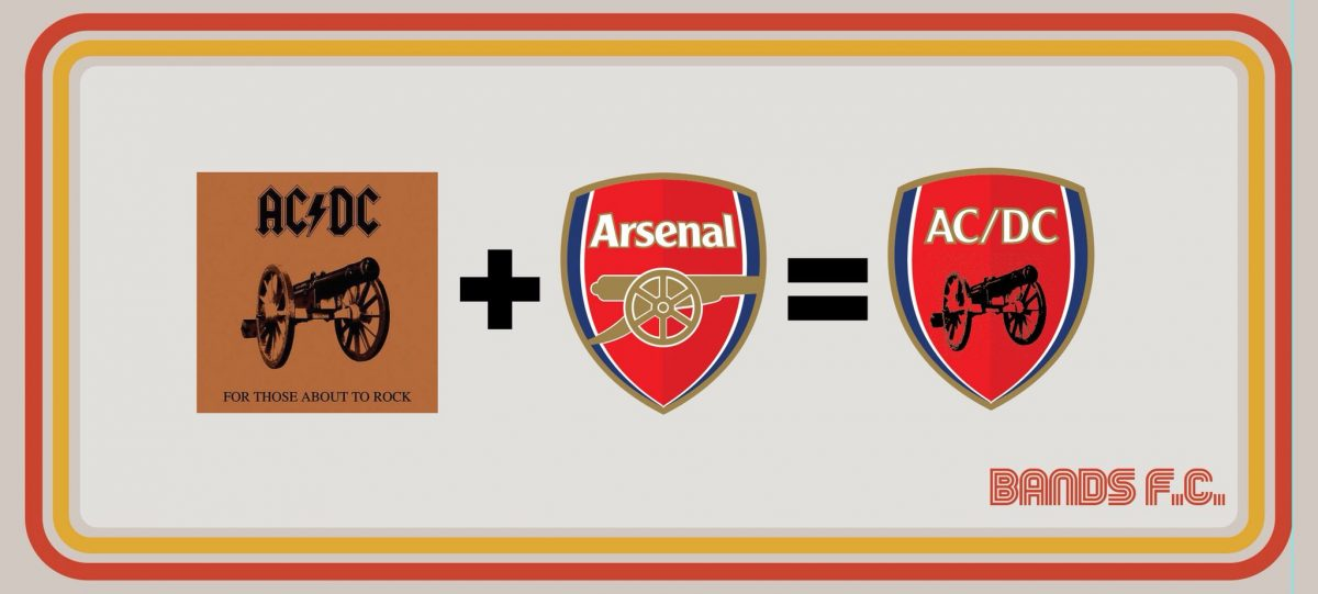 Bands FC - what happens when you blend Arsenal and AC/DC