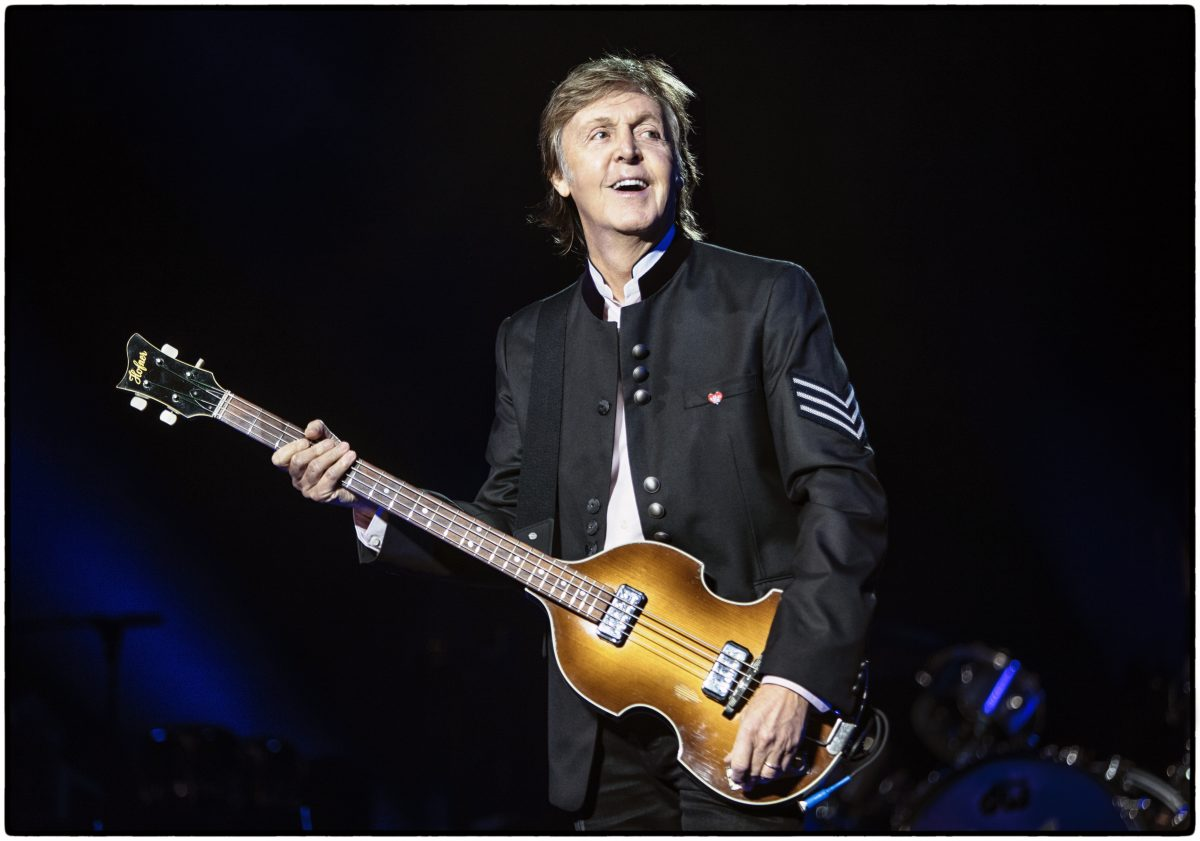 With Paul McCartney due to play the Echo Arena this week, we