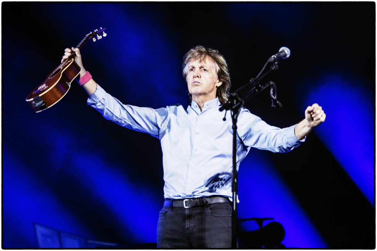 Paul McCartney in Sao Paulo
