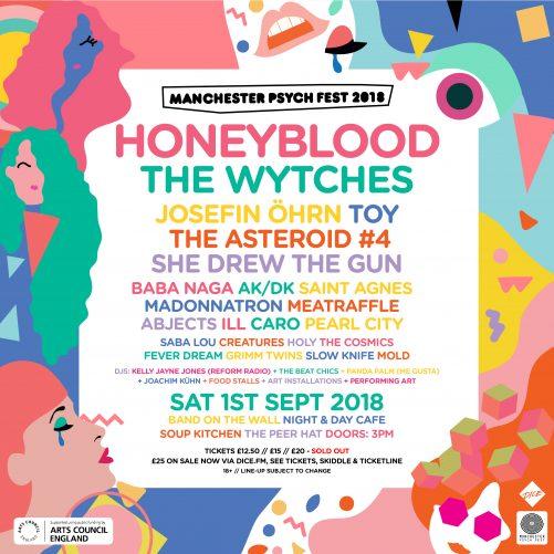 Manchester Psych Fest 2018