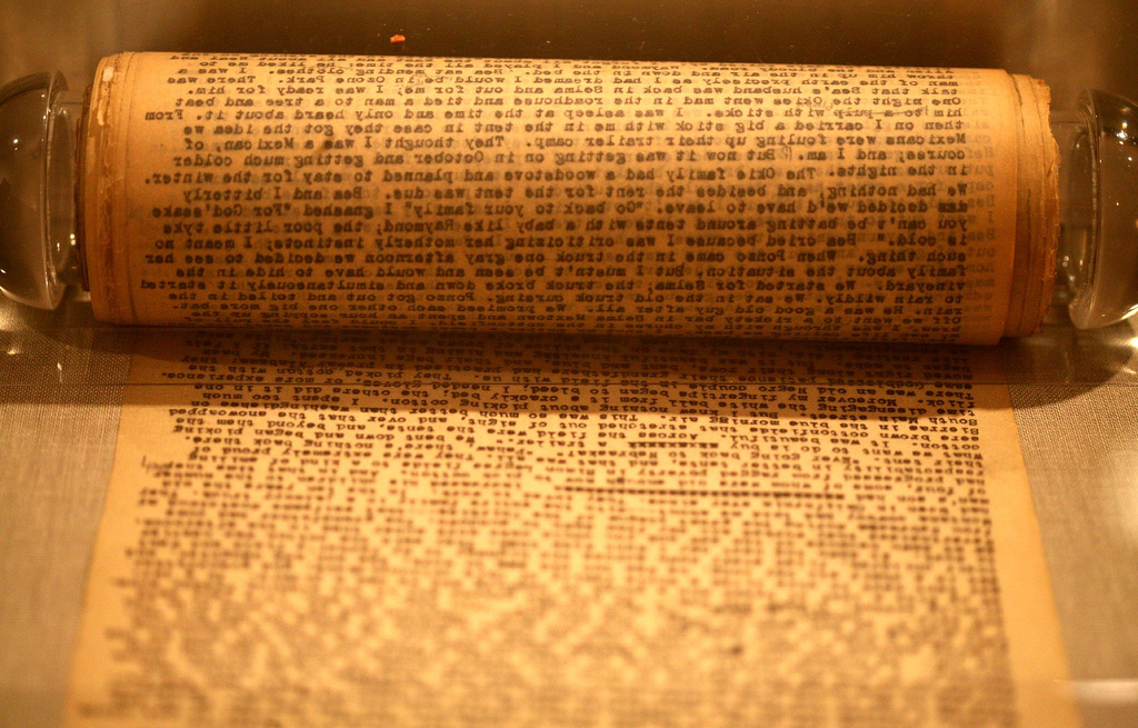 Scroll manuscript