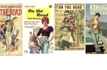 On the Road covers Kerouac