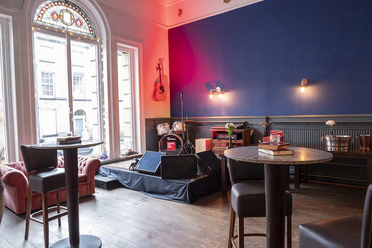 Liverpool Arts Bar stage