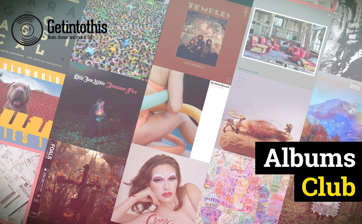 Albums Club #41: Elbow, Foals, Kim Gordon, Temples, Pan American, Stay, Vetiver,petbrick