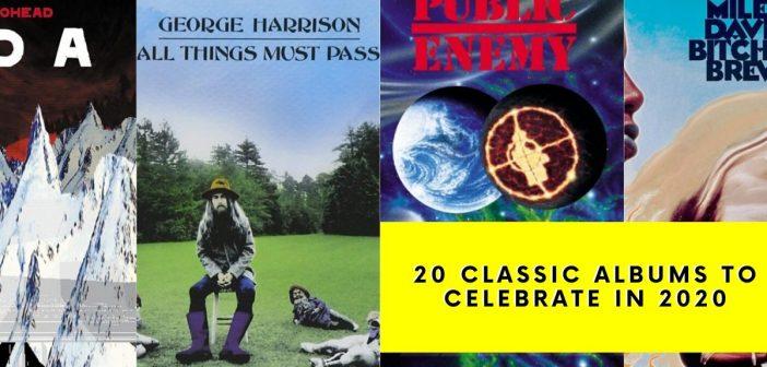 Twenty classic albums celebrating milestone anniversaries in 2020