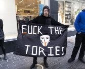 Liverpool 'Fuck The Tories' street rave: hundreds take to city centre in Tory protest