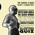 COW, Bandit and Louise Evans set for Getintothis Social in March at District