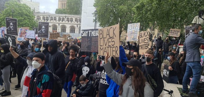 Black Lives Matter protests take place across the UK – pictures and video from Liverpool, Manchester, London