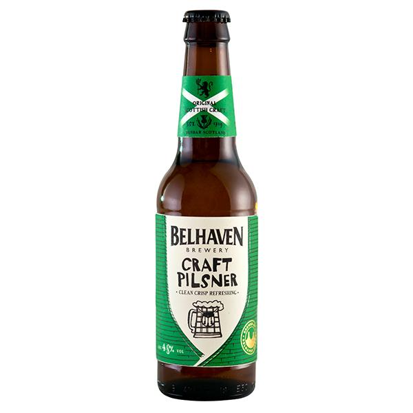 Belhaven Craft Pilsner 330ml bottle