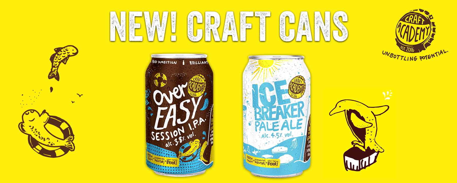 Craft Academy Cans