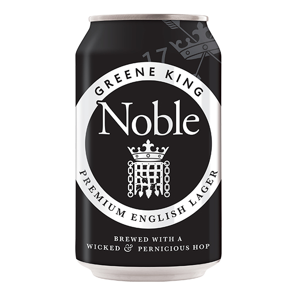 Noble English Lager 330ml can