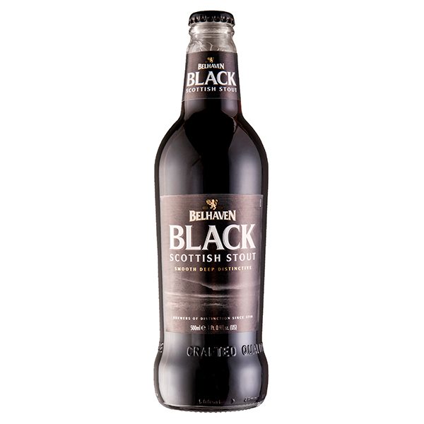 Belhaven Black 500ml bottle