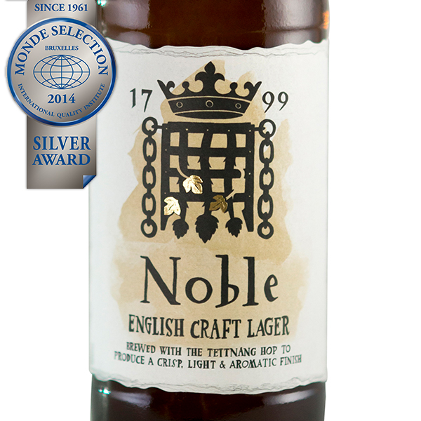 Noble English Craft Lager