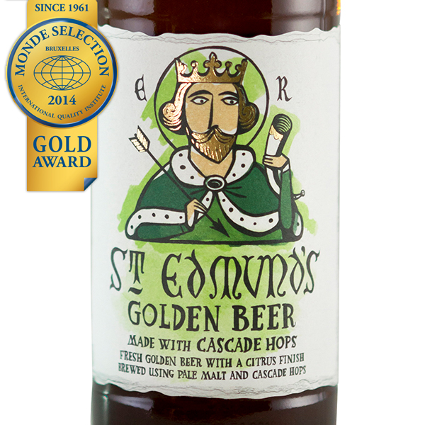 St Edmunds Golden Beer
