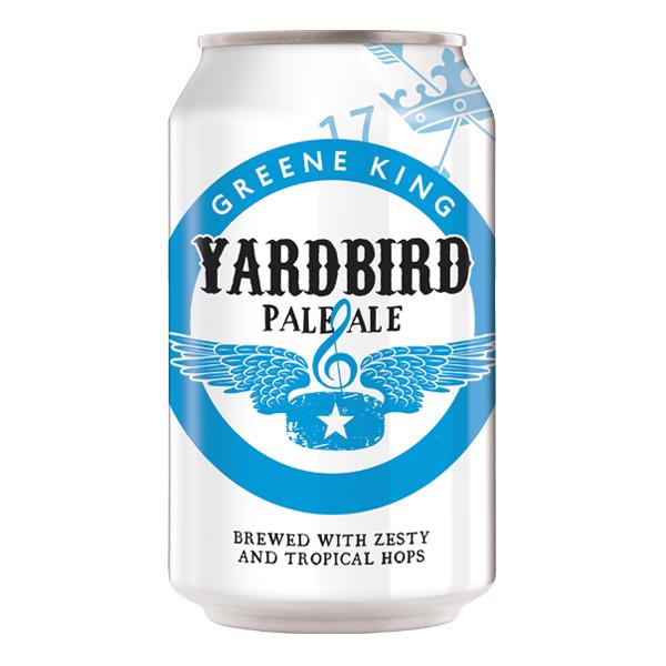 Greene King Yardbird Pale Ale 330ml can