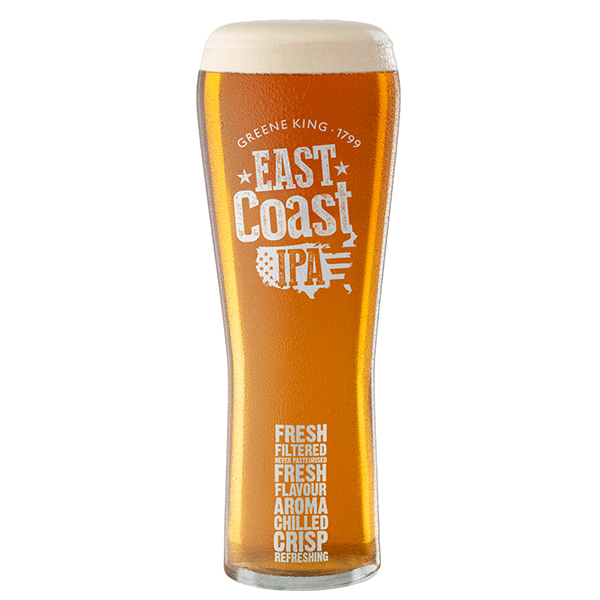 East Coast IPA pint glass