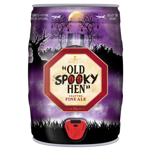 """""""Old Spooky Hen"""" Mini Keg"""