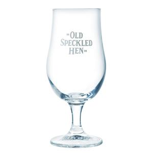 """Old Speckled Hen"" Half Pint Glass"