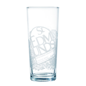 St Edmunds Pint Glass