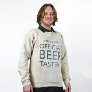 Beer Taster Sweatshirt - Stone