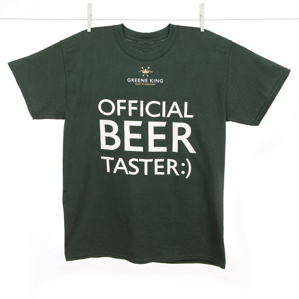 Variation #393 of Beer Taster T Shirt – Green