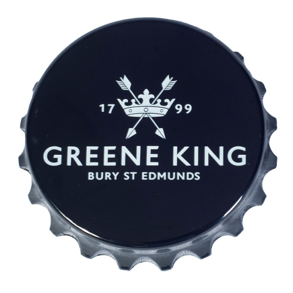 Greene King Bottle Opener & Fridge Magnet