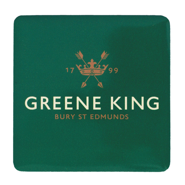 Greene King Coaster