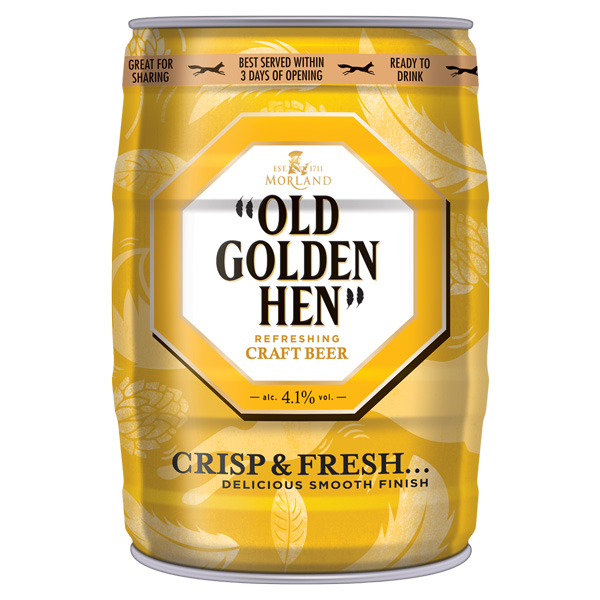 Old Golden Hen Mini Keg