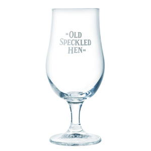"""Old Speckled Hen"" Half Pint Glass"