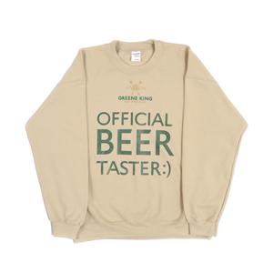 Beer Taster Sweatshirt - Stone - Large