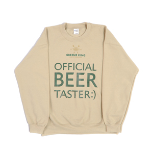 Beer Taster Sweatshirt - Stone - Medium