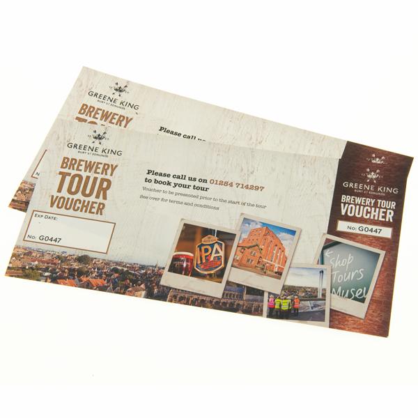 Brewery Tour Gift Voucher