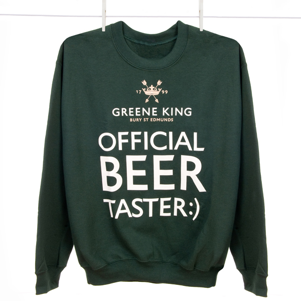 Beer Taster Sweatshirt - Green - Small
